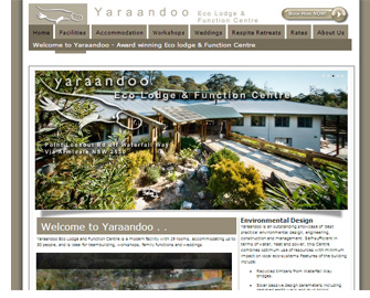 Yaraandoo Eco Lodge and Function Centre, Ebor near Armidale NSW
